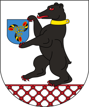 File:Coat of Arms of Smarhoń, Belarus svg.png