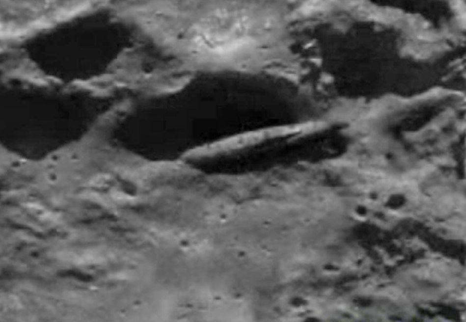 Луна - гигантский инопланетный корабль?!