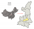 Location of Xi27an Prefecture within Shaanxi 28China29.png