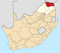 Map of South Africa with Vhembe highlighted (2011) svg.png