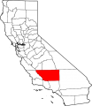 Map of California highlighting Kern County svg.png