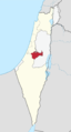 Jerusalem District in Israel disputed svg.png