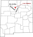Map of New Mexico highlighting Los Alamos County svg.png